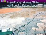 liquefaction during 1995 earthquake kobe japan