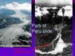 path of peru slide