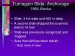 turnagain slide anchorage 1964 alaska