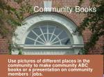 community books