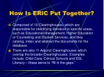 how is eric put together