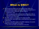 what is eric