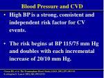 blood pressure and cvd