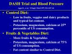 dash trial and blood pressure