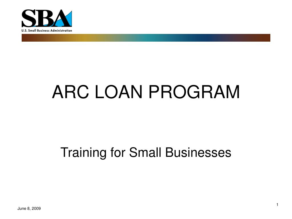arc loan program l.