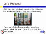 let s practice21