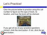 let s practice29