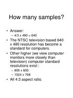 how many samples10