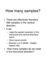 how many samples9