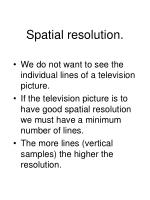 spatial resolution4