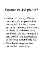 square or 4 3 pixels
