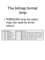 the bitmap format bmp21