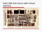 intel 286 first micro with virtual memory