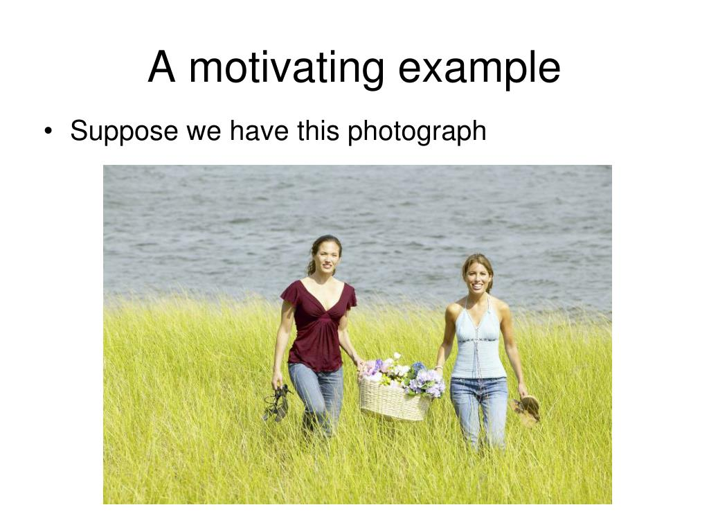 A motivating example