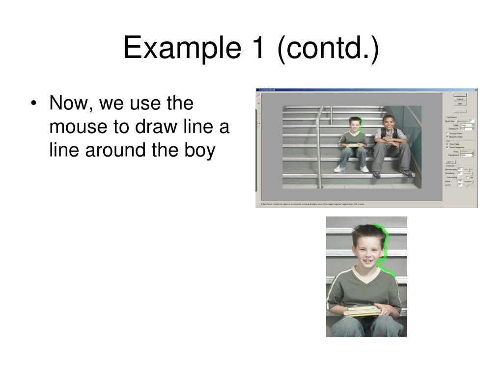 Example 1 (contd.)