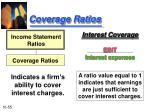 coverage ratios