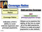 coverage ratios56