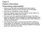 case 2 patient information prescribing responsibility