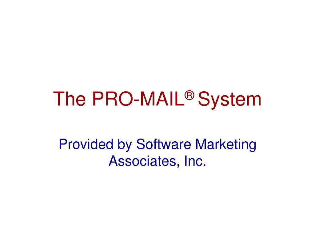 the pro mail system l.