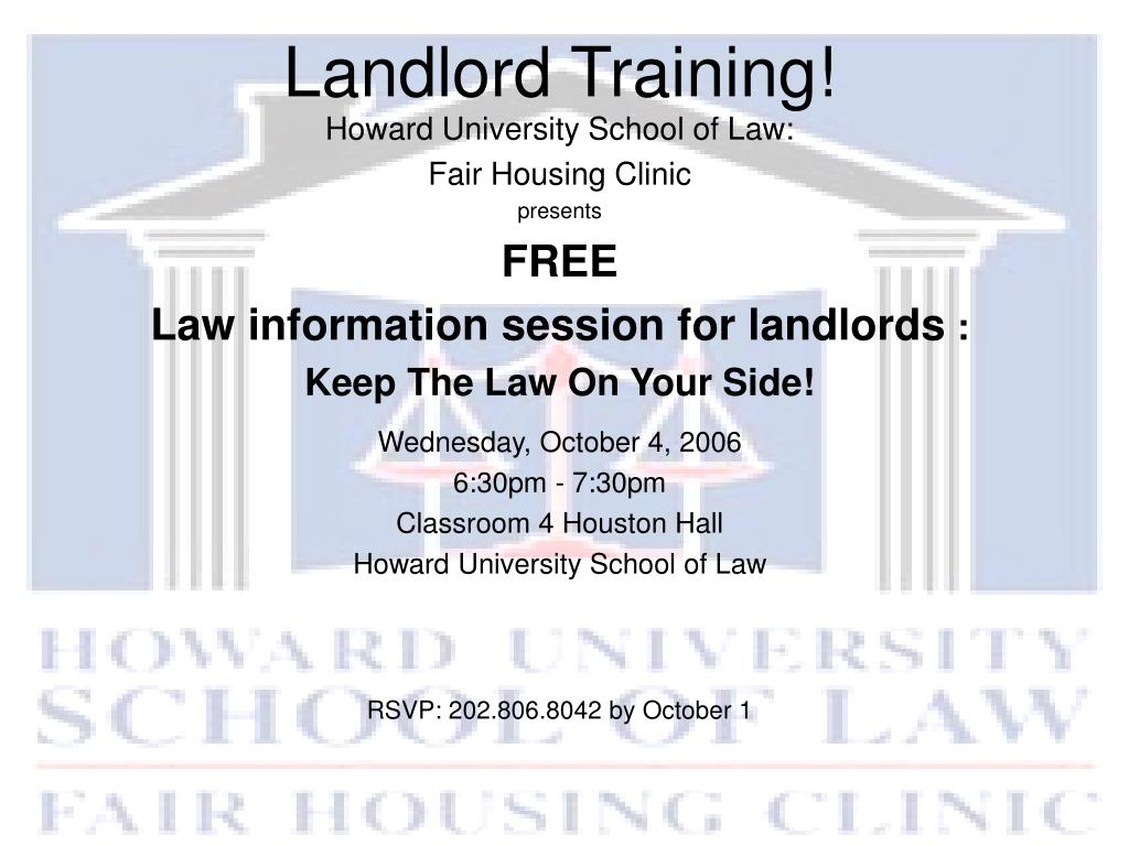 landlord training l.