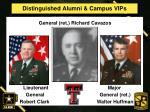 distinguished alumni campus vips