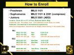 how to enroll