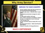 why army service