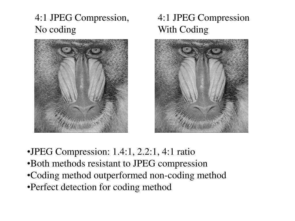 4:1 JPEG Compression,