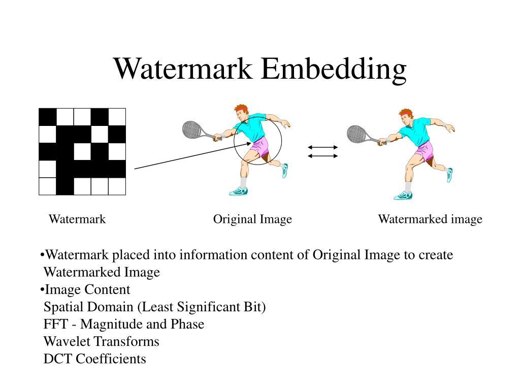 Watermark Embedding