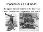 imperialism third world