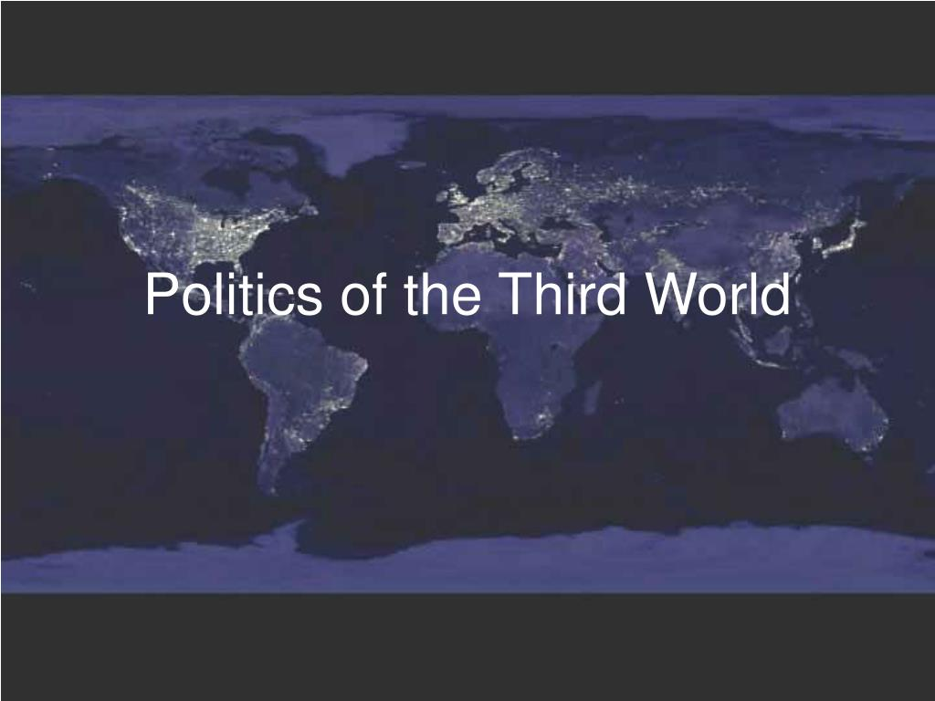 politics of the third world l.