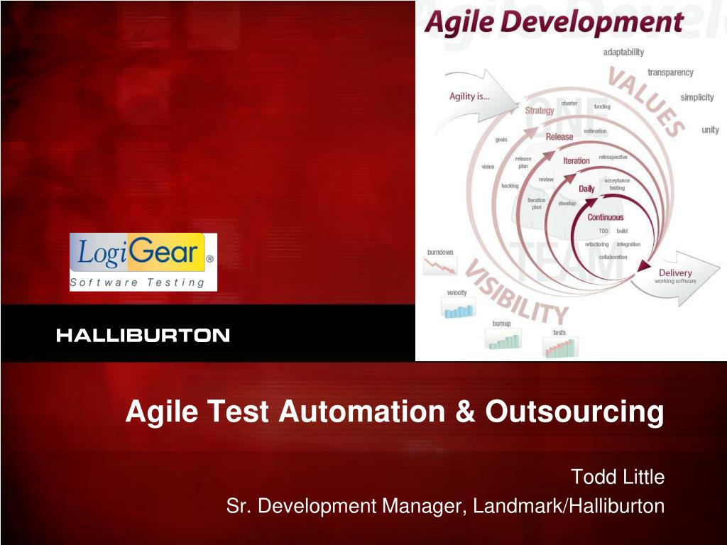 agile test automation outsourcing l.