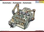 automate automate automate