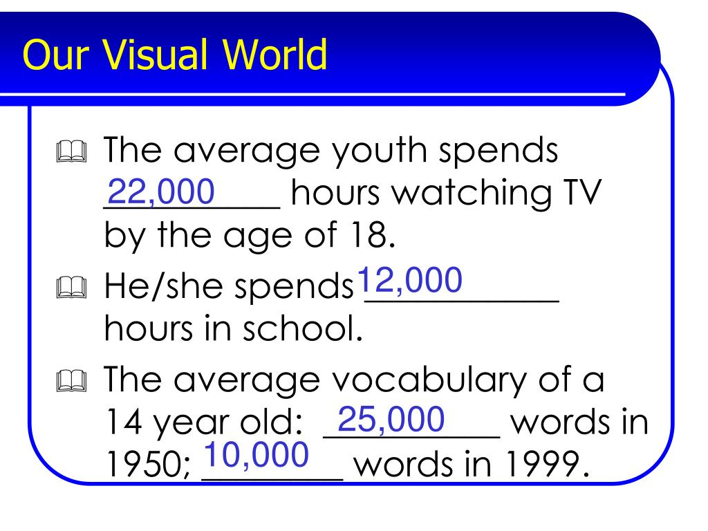 Our Visual World