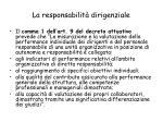 la responsabilit dirigenziale85
