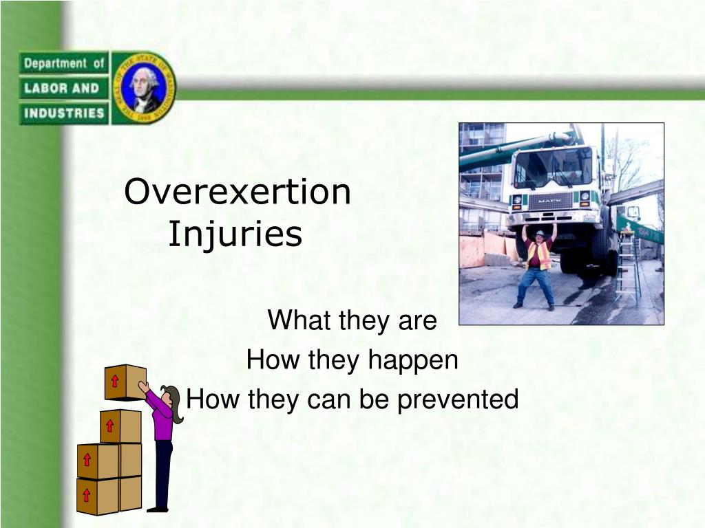 overexertion injuries l.