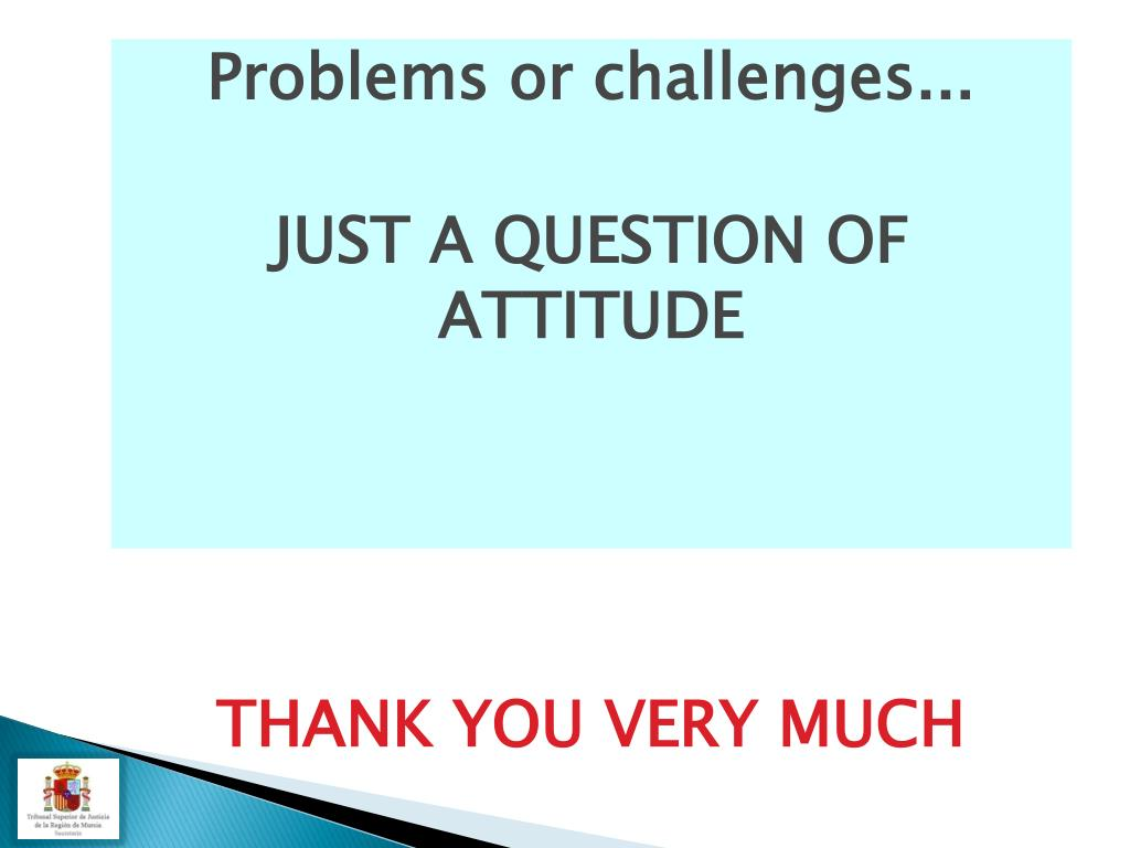 Problems or challenges...