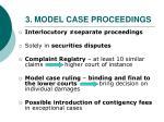 3 model case proceedings