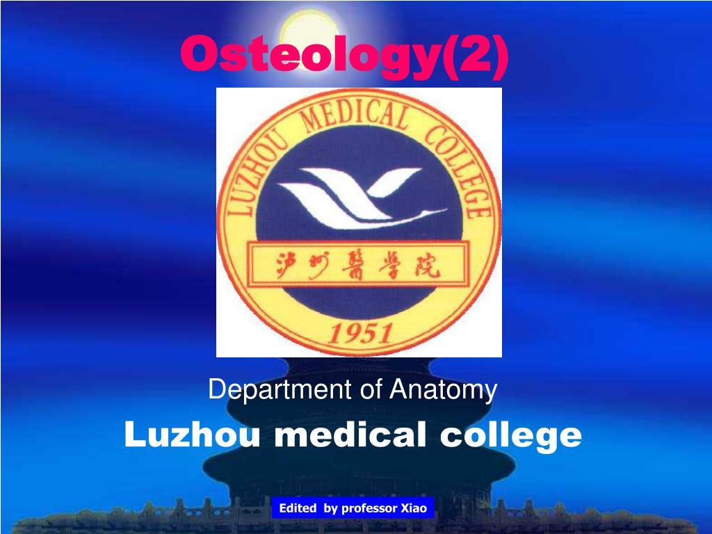 osteology 2 l.