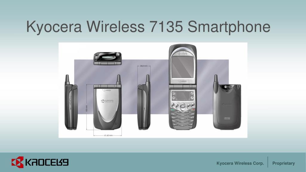 kyocera wireless 7135 smartphone l.