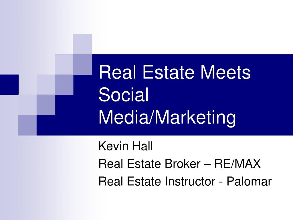 real estate meets social media marketing l.