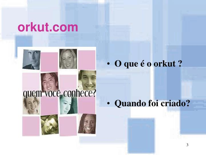 Orkut com