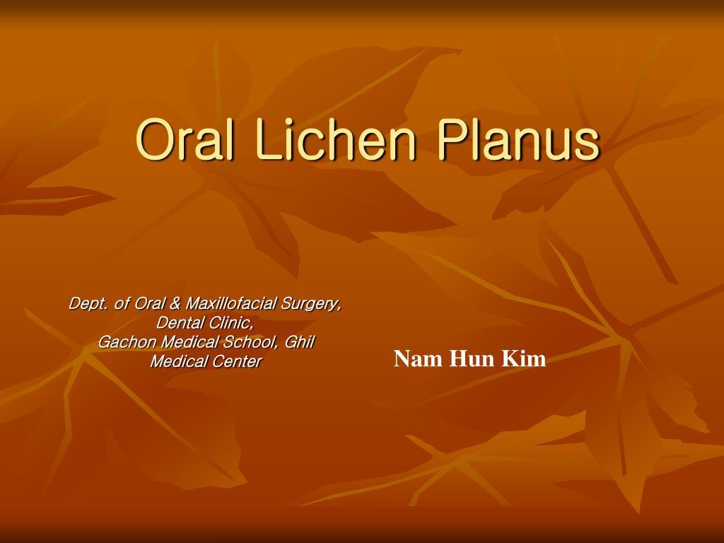oral lichen planus l.