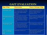 gait evaluation