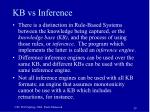 kb vs inference