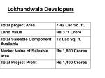 lokhandwala developers
