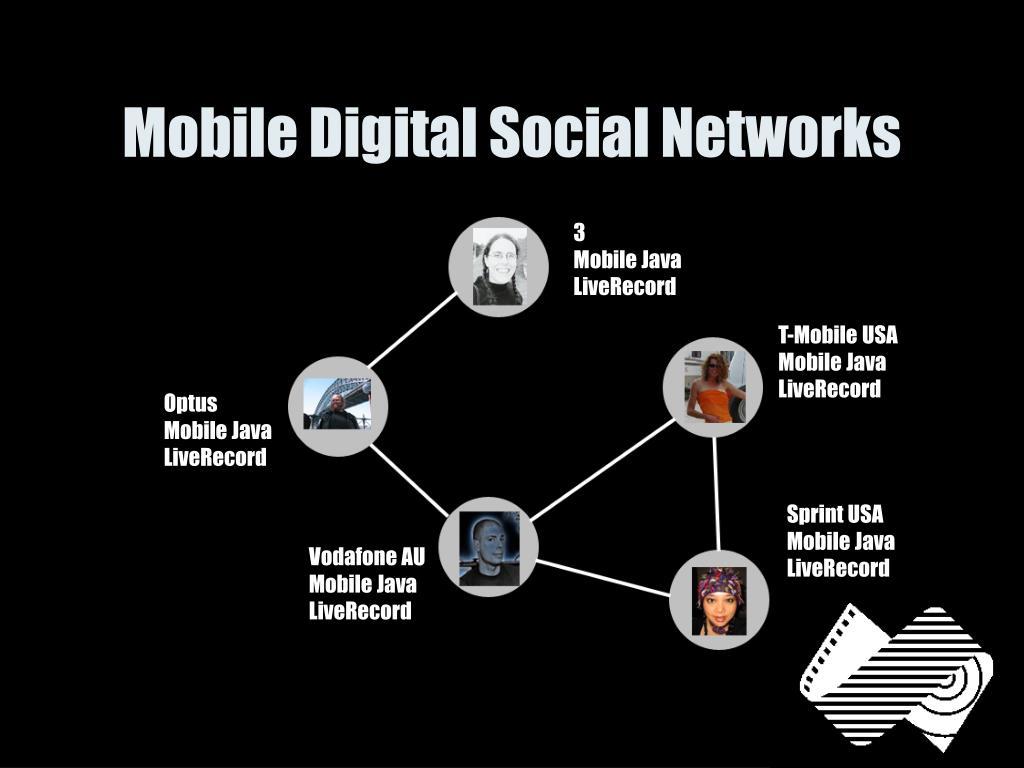 Mobile Digital Social Networks