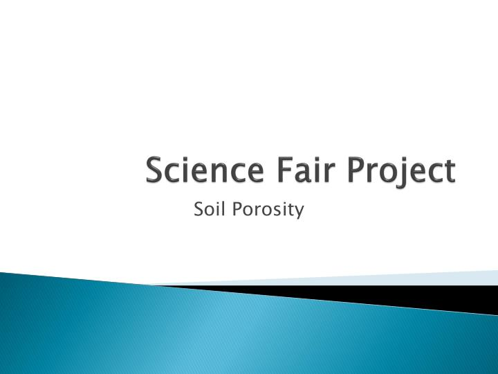 science fair project n.