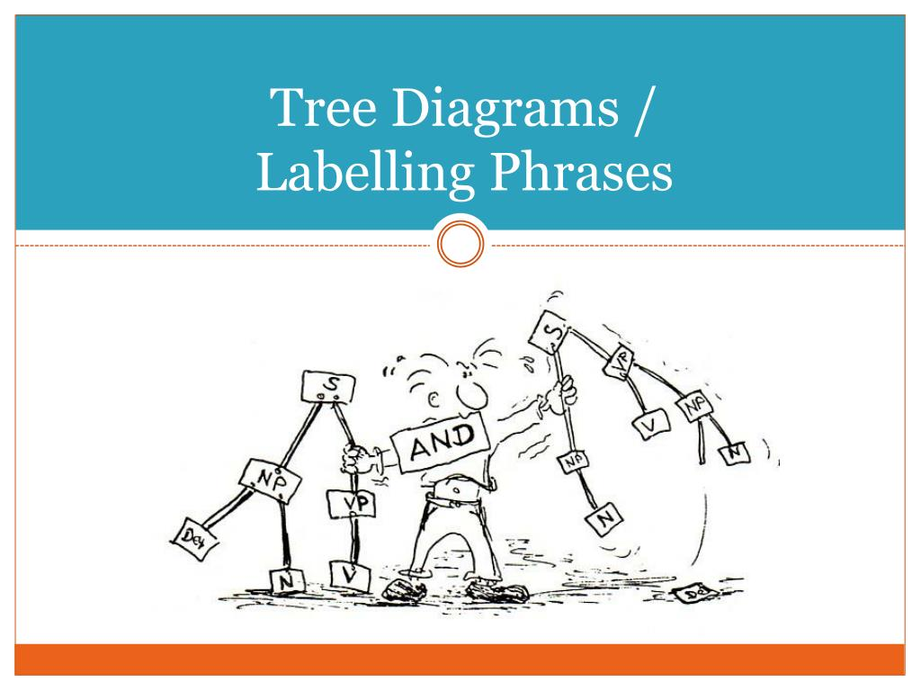tree diagrams labelling phrases l.