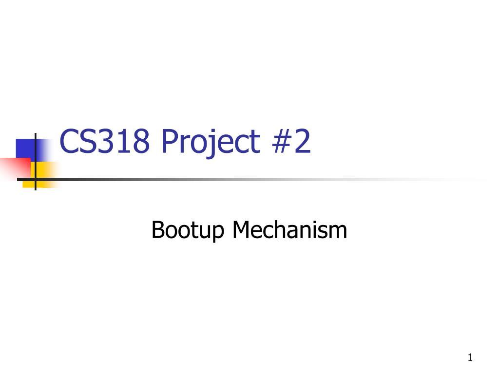 cs318 project 2 l.